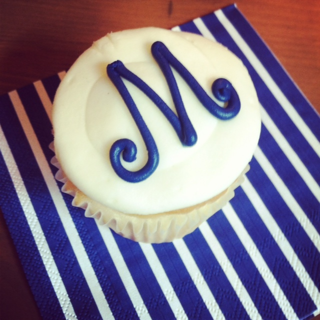 Monogrammed sweet treats!